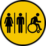 icoon toiletten